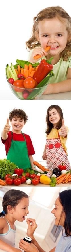 Как правильно давать витамины детям