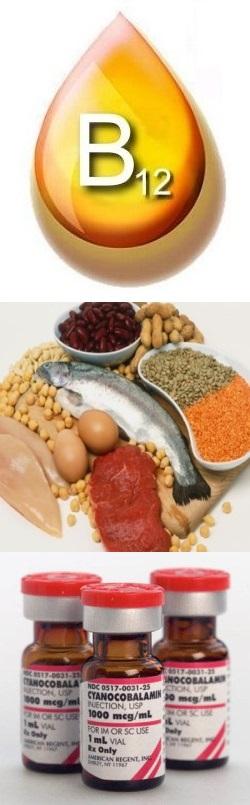 Как правильно принимать витамин в12