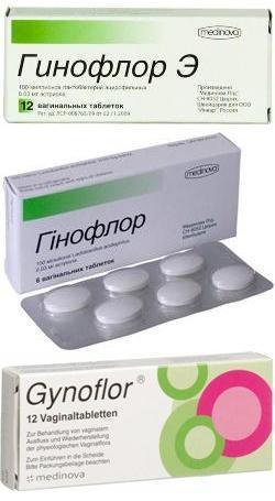 гинофлор таблетки инструкция цена