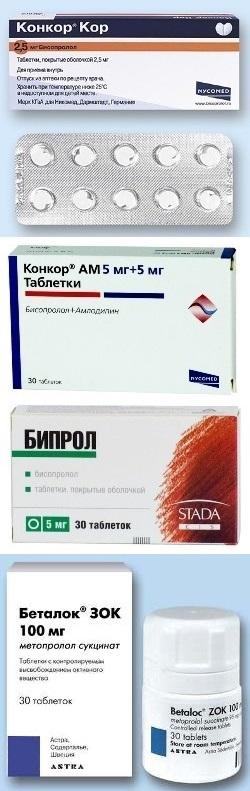 Бесопролол Таблетки Инструкция