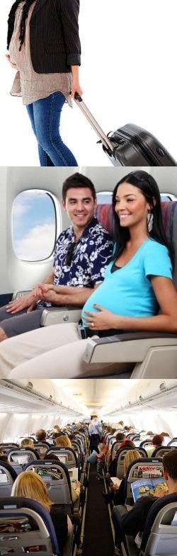 Можно ли беременным летать на самолте