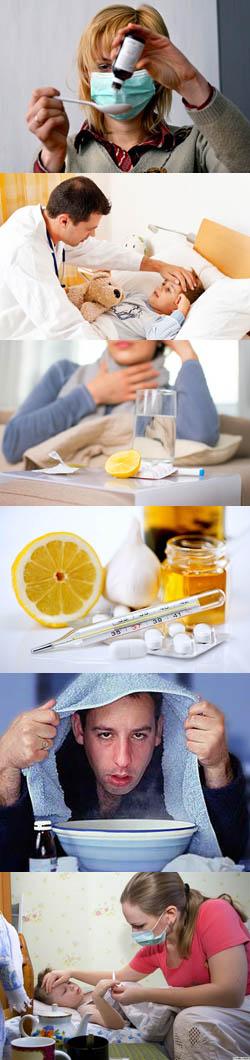 Лечебное действие при гриппе оказывают