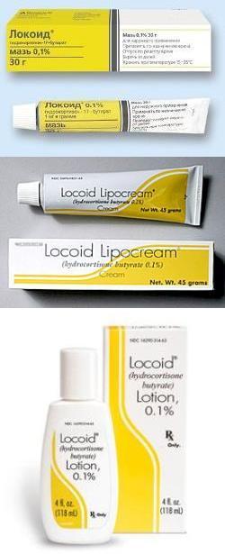 Локоид (мазь, крем, эмульсия) – инструкция по применению, аналоги ...