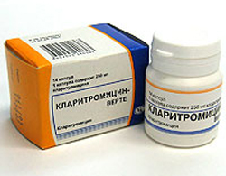 антибиотик кларитромицин инструкция по применению