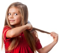 С определенной длины выпадают волосы