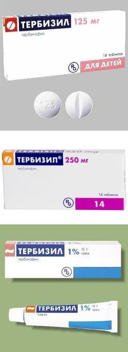 тербизил инструкция по применению цена отзывы крем