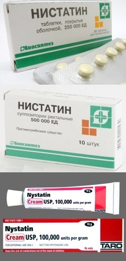 Нистатин: инструкция и показания к применению, аналоги, дозировка.