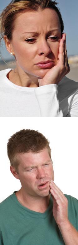 Боль в нижней челюсти отдает в ухо