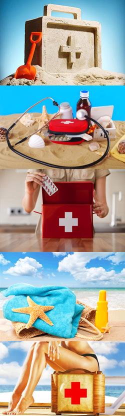 Аптечка на море - что положить? Какие лекарства взять в отпуск? Как собрать аптечку на пляж?