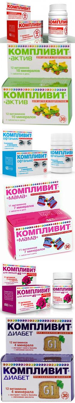 Компливит Сияние - витамины для волос, ногтей и похудения, отзывы