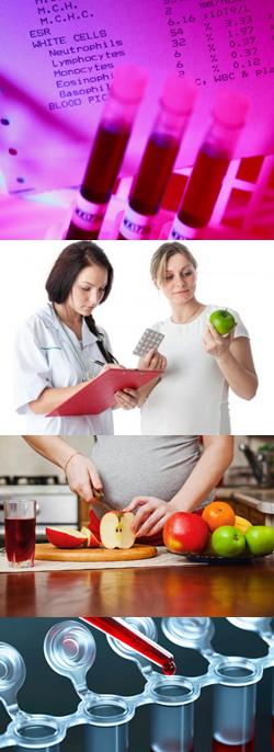 Осложнение анемии беременных