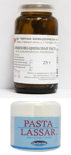 Салицилово цинковая паста от герпеса
