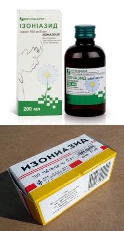 Тубазид таблетки инструкция