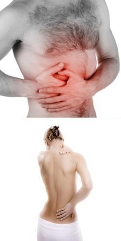 При месячных боли внизу живота и спине