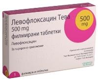 Левофлоксацин при каких заболеваниях