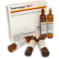 лекарство тиоктацид инструкция - фото 10