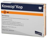 Конкор – инструкция по применению таблеток, цена, аналоги, отзывы