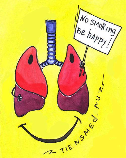 запах сигарет изо рта