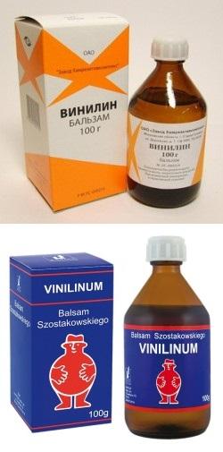 Винилин: инструкция по применению, цена, аналоги и отзывы про бальзам.