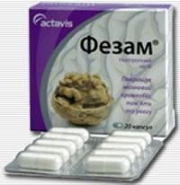 Фезам, Омарон инструкция, применение, цены, аналоги