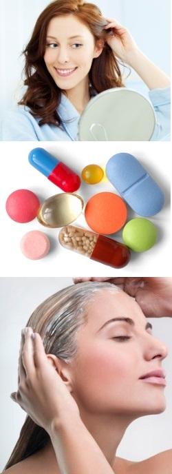Какие витамины для роста волос