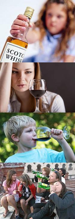 Чем опасен детский алкоголизм и как его лечить