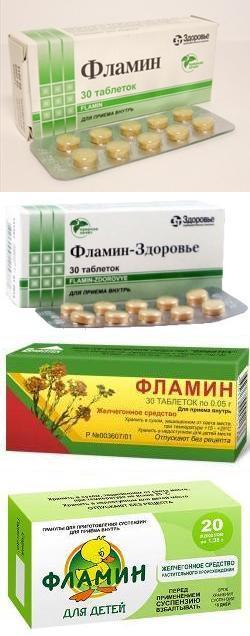 Фламин таблетки и гранулы (для детей) – инструкция по применению ...
