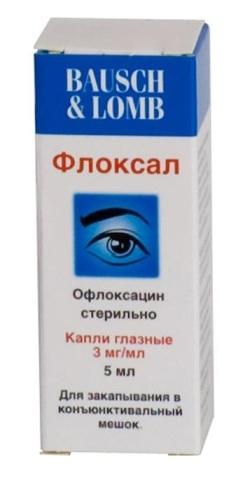 Флоксал, мазь глазная 3 мг/г 3 г купить, цена и отзывы, флоксал.