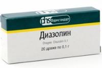 Диазолин в ампулах инструкция по применению