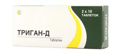 Состав таблеток триган д