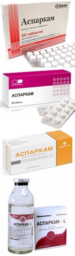 Аспаркам инструкция по применению цена таблетки цена.