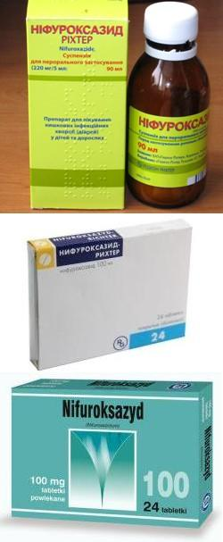 Нифуроксазид суспензия инструкция для детей цена.