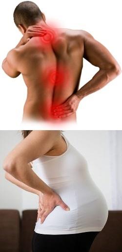 Проблемы в грудном отделе позвоночника симптомы