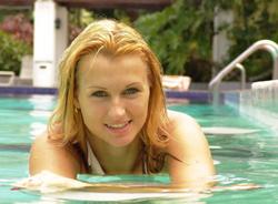 как похудеть в бассейне видео