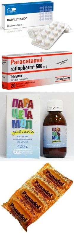 парацетамол свечи 0.17 инструкция по применению для детей