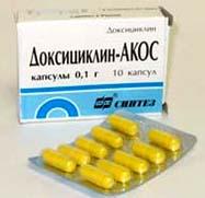 доксициклин антибиотик от чего помогает