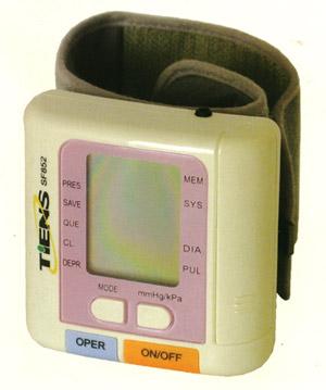Тонометр Тяньши (Тиенс, Tiens) Шенфу.  Для измерения давления, с функцией снижения кровяного давления.