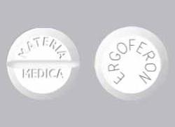 Эргоферон антибиотик или нет
