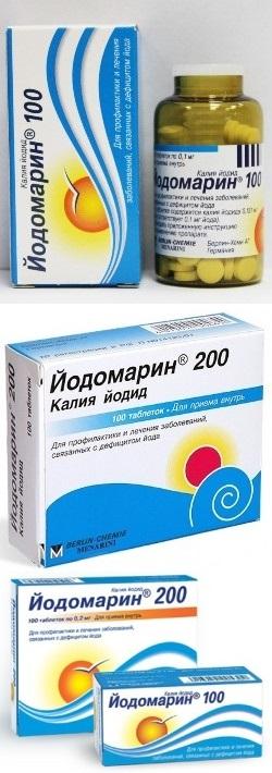 Йодомарин и артериальное давление