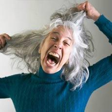 Седые волосы причина и лечение